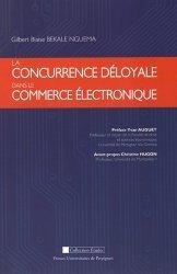 Dernières parutions dans Etudes, La concurrence déloyale dans le commerce électronique https://fr.calameo.com/read/005370624e5ffd8627086