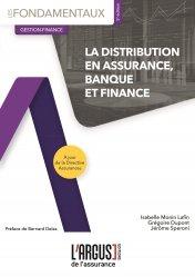 Dernières parutions sur Assurances, La distribution en assurance, banque et finance. 5e édition