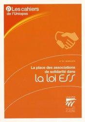 Dernières parutions sur Aide sociale, La place des associations de solidarité dans la loi ESS