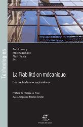 Dernières parutions sur Mécanique, La fiabilité en mécanique