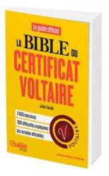 Dernières parutions sur Certificat Voltaire, La bible du certificat Voltaire