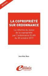 Dernières parutions sur Copropriété, La copropriété sur ordonnance