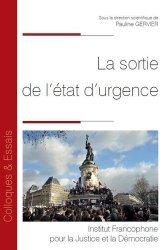Dernières parutions dans Colloques & Essais, La sortie de l'état d'urgence