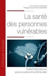 Dernières parutions dans Colloques & Essais, La santé des personnes vulnérables