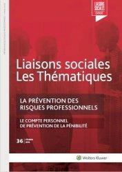 Dernières parutions sur Hygiène et sécurité, LA PREVENTION DES RISQUES PROFESSIONNELS