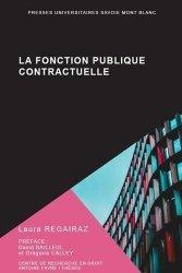 Dernières parutions sur Fonction publique, La fonction publique contractuelle