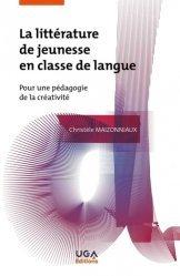 Dernières parutions sur Questions d'éducation, La littérature de jeunesse en classe de langue
