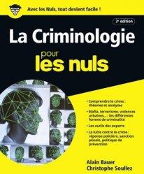 Dernières parutions sur Criminologie, La criminologie pour les nuls