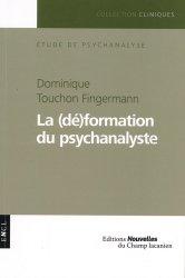 Dernières parutions dans Cliniques, La (dé)formation du psychanalyste