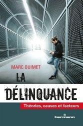 Dernières parutions sur Criminologie, La délinquance