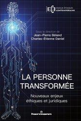 Dernières parutions sur Intelligence artificielle, La personne transformée
