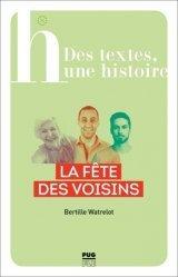 Dernières parutions sur Français Langue Étrangère (FLE), La fête des voisins