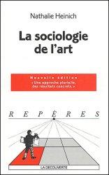 Dernières parutions dans Repères, La sociologie de l'art. Edition 2004