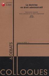 Dernières parutions dans Colloques & débats, La doctrine en droit administratif