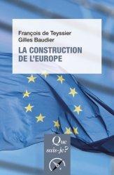 Dernières parutions sur Droit communautaire, La construction de l'Europe