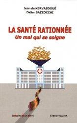 Dernières parutions sur Economie de la santé, La santé rationnée majbook ème édition, majbook 1ère édition, livre ecn major, livre ecn, fiche ecn