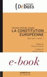 Dernières parutions dans Nouveaux débats, La Constitution européenne. Que faut-il savoir ?