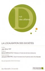 Dernières parutions dans Institut de droit des affaires, La localisation des sociétés