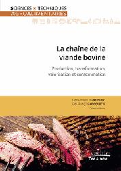 Dernières parutions sur Industrie agroalimentaire, La chaîne de la viande bovine