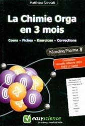 Souvent acheté avec La chimie de l'UE1, le La Chimie Orga en 3 mois  PAES / L1