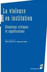 Dernières parutions dans Des sociétés, La violence en institution
