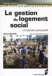 Dernières parutions sur Logement, La gestion du logement social