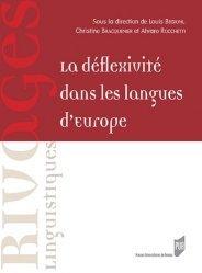 Dernières parutions sur Linguistique, La déflexivité dans les langues d'Europe