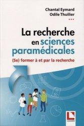 Dernières parutions sur Infirmières, La recherche en sciences paramédicales