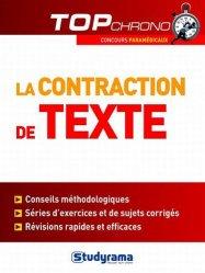 Souvent acheté avec Annales corrigées concours psychomotricien, le La contraction de texte