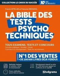 Dernières parutions sur Tests psychotechniques, La bible des tests psychotechniques