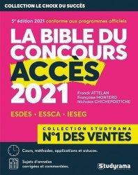 Dernières parutions sur Concours administratifs, La bible du concours accès