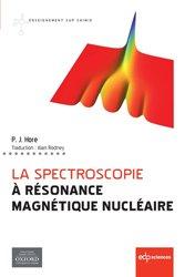 Souvent acheté avec Architectures logicielles réparties, le La spectroscopie à résonance magnétique nucléaire