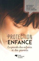 Souvent acheté avec La pratique de la thérapie et de la relation d'aide, le La protection de l'enfance