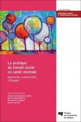 Dernières parutions sur Pratiques professionnelles, La pratique du travail social en santé mentale