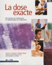 Dernières parutions dans Compétences infirmières, La dose exacte