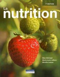 Dernières parutions sur Nutrition - Pratiques alimentaires, La nutrition