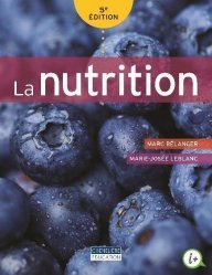 Dernières parutions dans Chenelière éditions, La nutrition