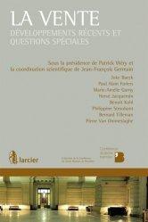 Dernières parutions dans Conférence du jeune barreau de Bruxelles, La vente. Développements récents et questions spéciales