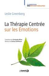 Dernières parutions sur Méthodes thérapeutiques, La thérapie centrée sur les émotions