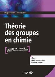 Dernières parutions sur LMD, La théorie des groupes en chimie
