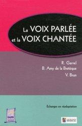 Dernières parutions dans Échanges en réadaptation, La voix parlée et la voix chantée