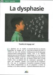 Dernières parutions dans Petit guide, La dysphasie
