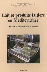 Dernières parutions sur Industrie laitière, Lait et produits laitiers en Méditerranée