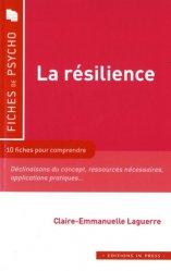 Nouvelle édition La résilience