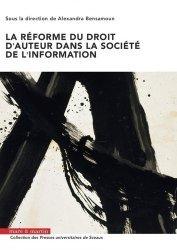 Dernières parutions dans Presses Universitaires de Sceaux, La réforme du droit d'auteur dans la societé de l'information