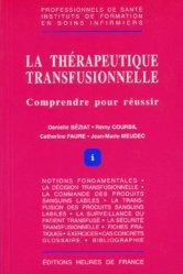 Dernières parutions sur UE 4.4 Thérapeutiques et contribution au diagnostic médical, La thérapeutique transfusionnelle
