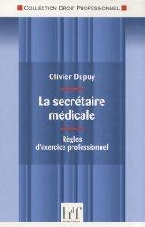 Dernières parutions dans Droit professionnel, La secrétaire médicale