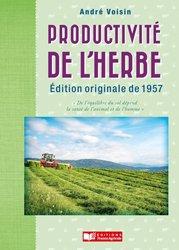 Dernières parutions sur Production végétale, La productivité de l'herbe