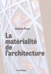 Dernières parutions dans Architectures, La matérialité de l'architecture