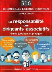 Dernières parutions dans Conseiller juridique pour tous, La responsabilité des dirigeants associatifs https://fr.calameo.com/read/000015856c4be971dc1b8
